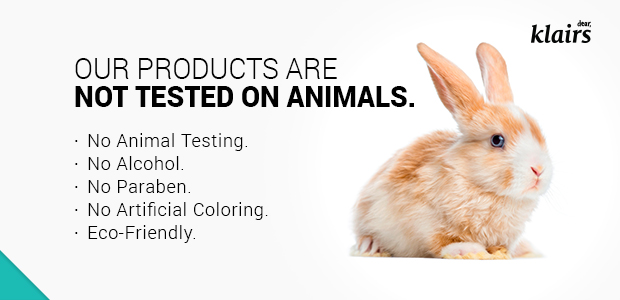 klairs no animal testing