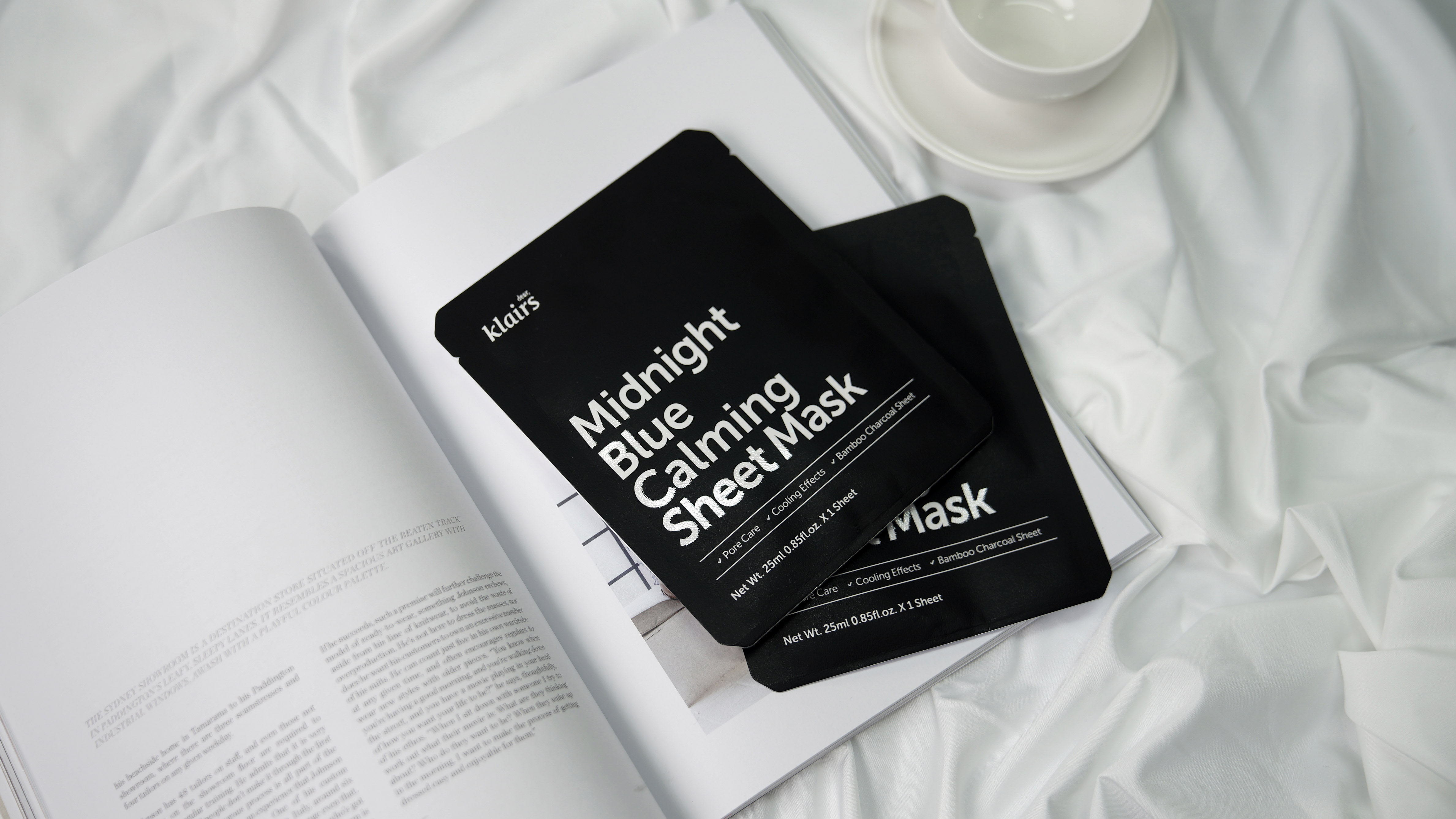 Midnight Blue Calming Sheet Mask by Klairs #10