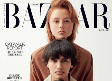 Romania: Harper's BAZAAR, March 2019
