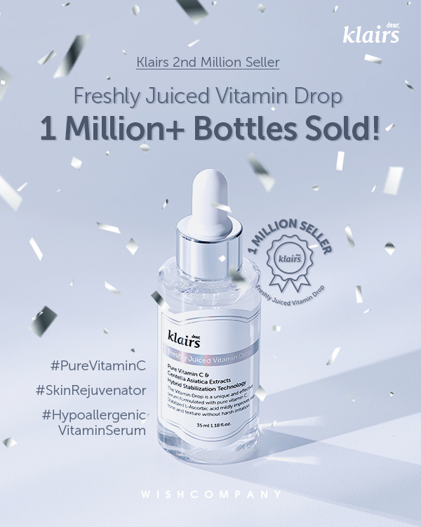 Low Irritation Pure Vitamin C Serum'Klairs Vitamin Drop' Sells One Million  Bottles - Dear, Klairs